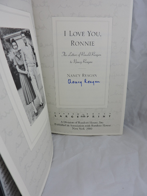 i love you ronnie the love letters of ronald reagan to nancy reagan