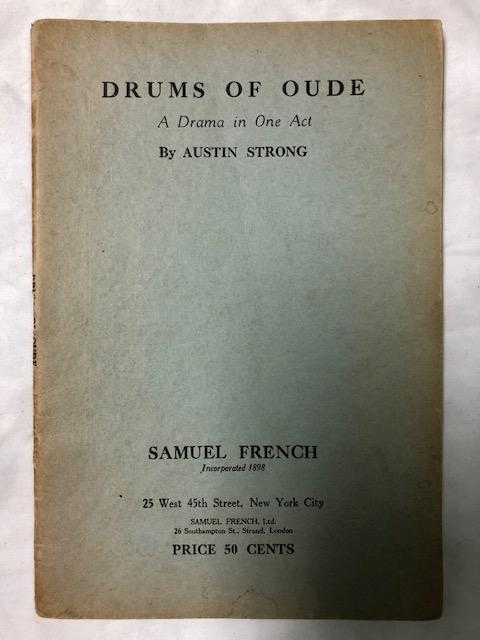 Drums Of Oude. Austin Strong.