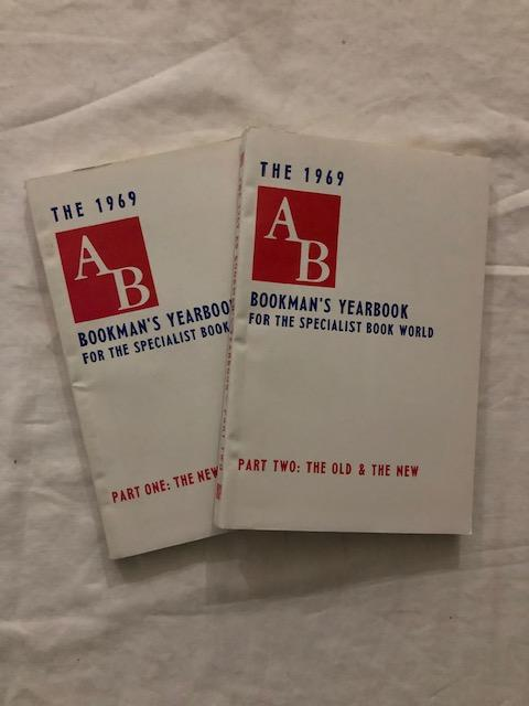 1969 AB Bookman's Yearbook Parts One and Two