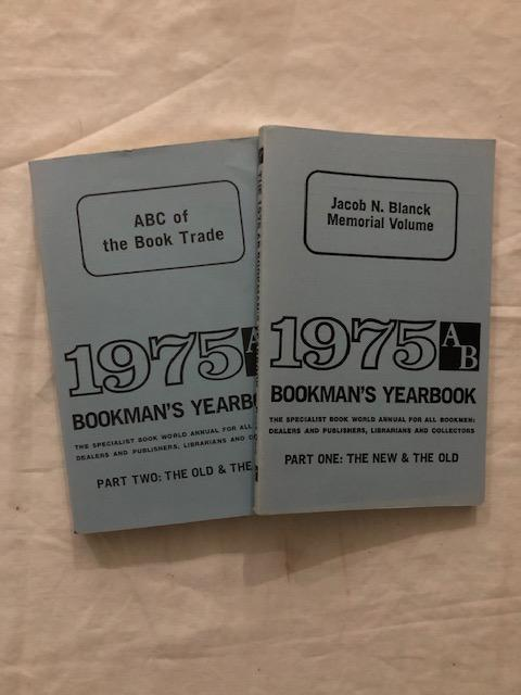 1975 AB Bookman's Yearbook Parts One and Two