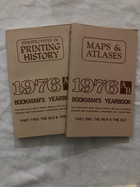 1976 AB Bookman's Yearbook Parts One and Two