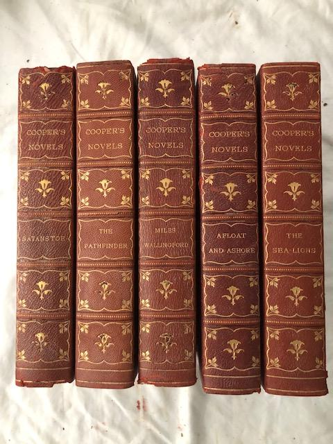 The Works of J. Fenimore Cooper (32 volumes); With editorial introductions by Paul Leicester Ford, Edward Everett Hale, Capt. Alfred T. Mahan. James Fenimore Cooper.