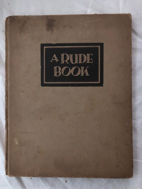 A Rude Book. Tell, Albert Buhrer.