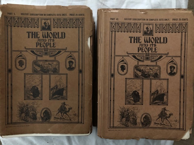The World And Its People (complete 85 parts). Charles F. Horne.