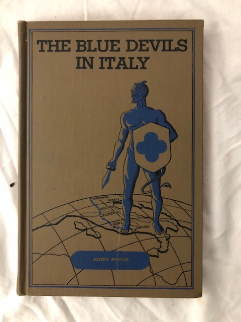 The Blue Devils in Italy; A History of the 88th Infantry Division in World War II. John P. Delaney.