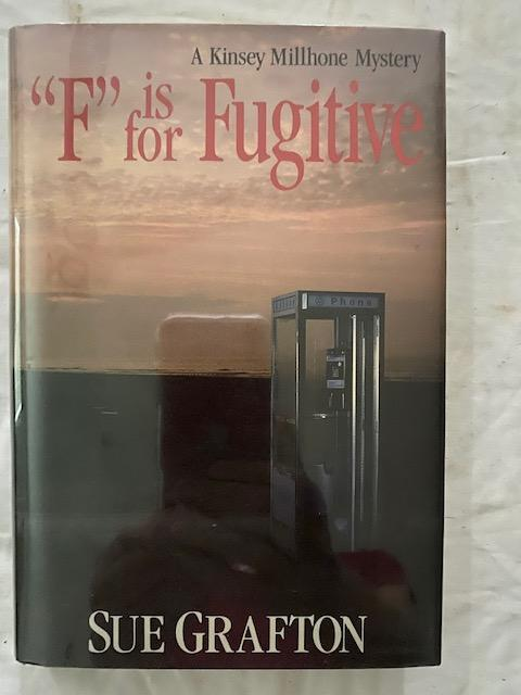 """F"" is for Fugitive. Sue Grafton."