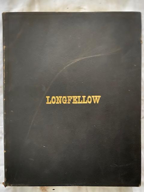 The Poetical Works Of Henry Wadsworth Longfellow (Four volumes). Henry Wadsworth Longfellow.