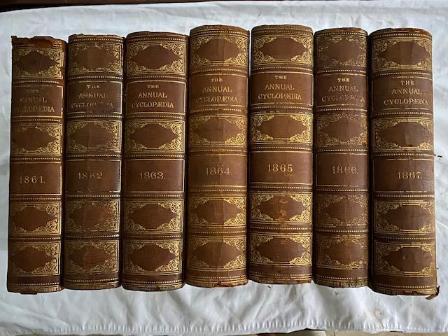 The American Annual Cyclopedia And Register of Important Events (1861-1867)