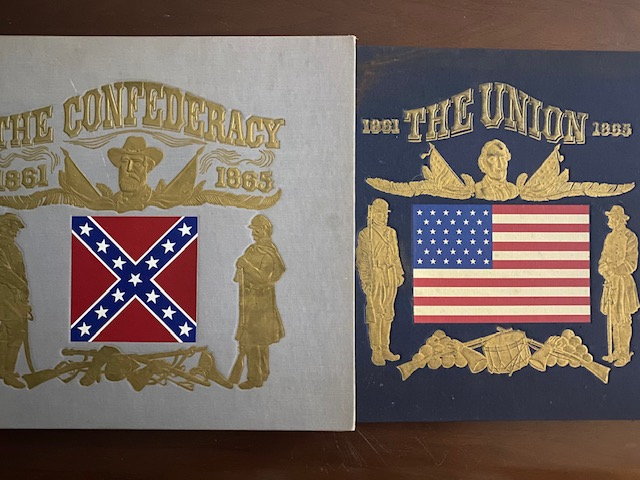 The Union; The Confederacy (two volumes set with two 33 1/3 vinyl records). Richard Bales.