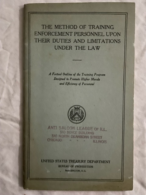 The Method Of Training Enforcement Personnel Upon Their Duties And Limitations Under The Law; A Factual Outline of the Training Program Designed to Promote Higher Morals and Efficiency of Personnel