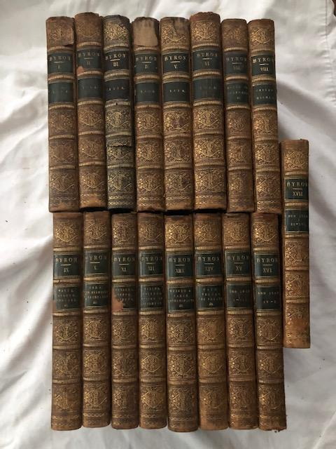 The Works of Lord Byron: With His Letters and Journals and His Life By Thomas Moore, Esq. (17 Volumes). George Gordon Byron, Lord.
