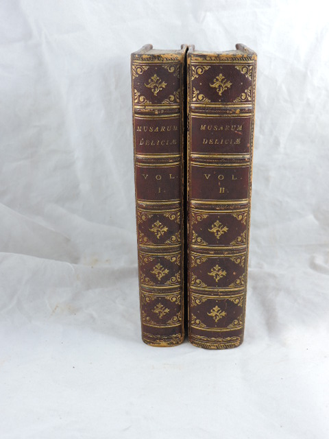 Musarum Deliciae in Two Volumes; The Muses Recreation. Sir John Mennis.