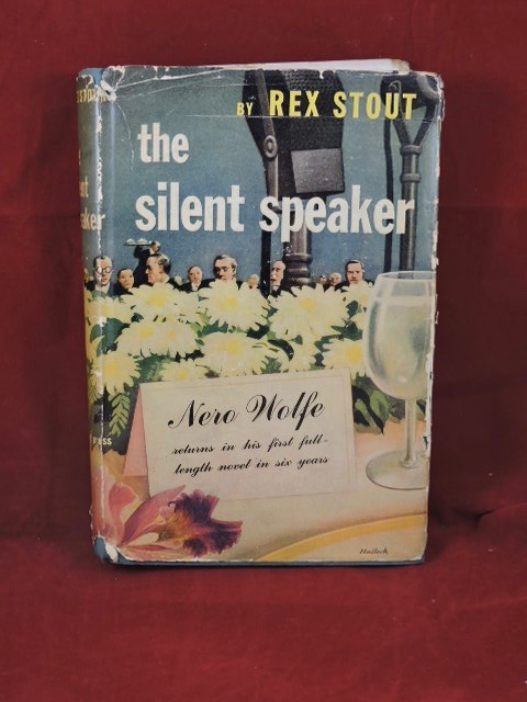 The Silent Speaker. Rex Stout.
