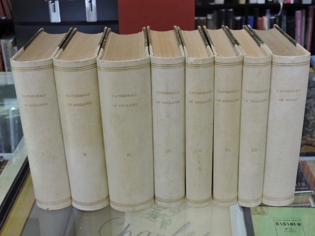 Handbook to the Cathedrals of England 8 Vols. Richard John King.