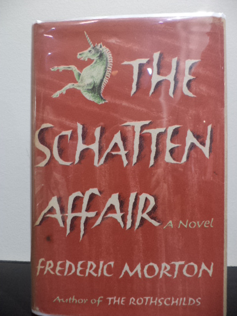 The Schatten Affair. Frederic Morton.