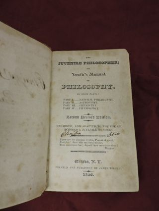 The Juvenile Philosopher; or Youth's Manual of Philosophy