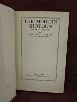 The Modern Shotgun Volume 1; The Gun