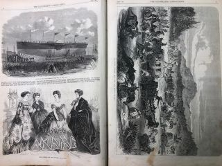 The Illustrated London News; January to June, 1867