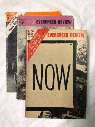 Evergreen Review Numbers 24, 28, 30
