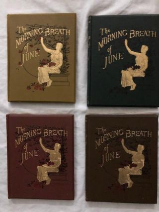 The Morning Breath of June Set of Four. James Blossum Bloss