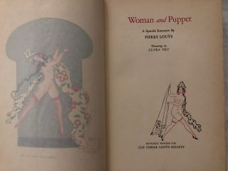 Woman and Puppet; A Spanish Romance