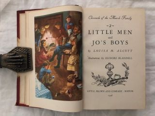 Chronicle of the March Family: Vol. 1 Little Women. Vol. 2 Little Men and Jo`s Boys