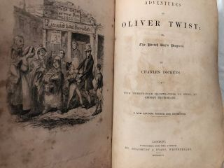 The Adventures of Oliver Twist; Or, The Parish Boy's Progress