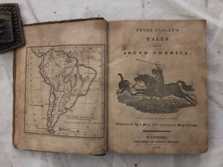 Peter Parley's Tales About South America; Illustrated by a Map and numerous Engravings