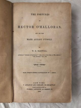 The Fortunes of Hector O'Halloran and his man Mark Antony O'Toole