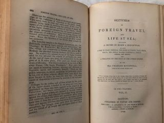 Sketches of Foreign Travel and Life at Sea;; Including A Cruise On Board A Man-Of-War, as also A Visit To Spain....And A Treatise On The Navy Of The United States