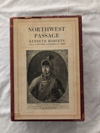 Northwest Passage, Two Volume Set. Kenneth Roberts