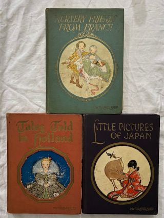 My Travelship series, 3 volumes: Little Pictures of Japan, Nursery Friends From France, Tales...