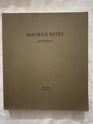 Maurice Fatio; Architect. Alexandra Fatio