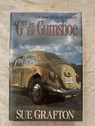 """G"" is for Gumshoe. Sue Grafton"