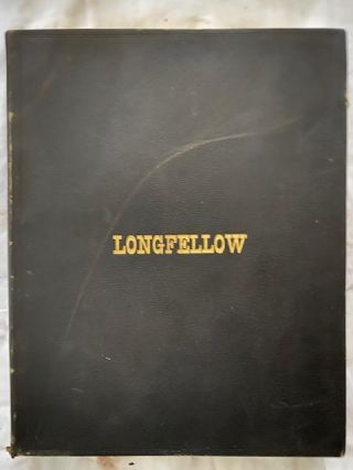 The Poetical Works Of Henry Wadsworth Longfellow (Four volumes). Henry Wadsworth Longfellow