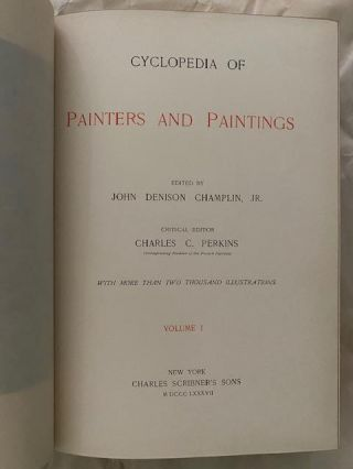 Cyclopedia Of Painters And Paintings