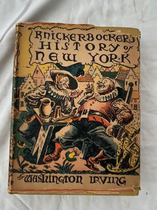Knickerbocker's History of New York. Washington Irving
