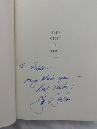 Inscribed First Edition John Grisham Novels. (Set of 15)