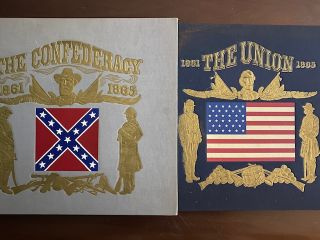 The Union; The Confederacy (two volumes set with two 33 1/3 vinyl records). Richard Bales