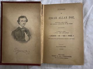 Poems of Edgar Allan Poe; Including Some Poems Not Hitherto Introduced in His Works