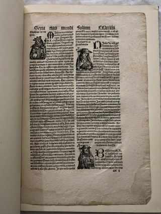 The Nuremberg Chronicle: a Pictorial World History from the Creation to 1493; With a Leaf from the Pirated Augsburg Latin Edition of 1497