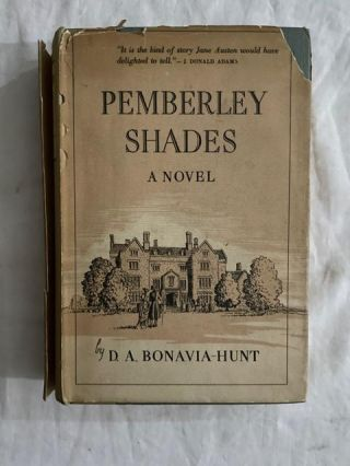 Pemberly Shades. D. A. Bonavia-Hunt