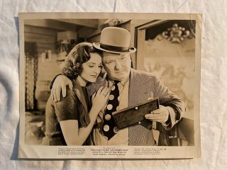 You Can't Cheat An Honest Man; W.C. Fields and Constance Moore