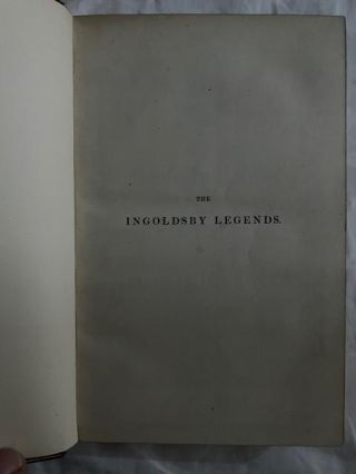 The Ingoldsby Legends (three volumes); or mirth and marvels
