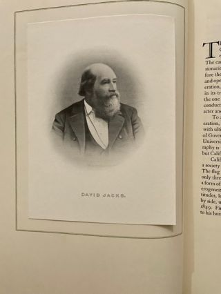 David Jacks of Monterey, and Lee L. Jacks, his daughter; with a foreword by Donald Bertrand Tresidder
