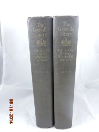 The Grenville Diary Vols I & II