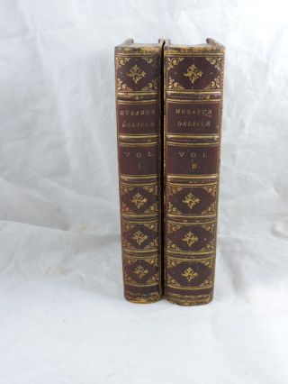 Musarum Deliciae in Two Volumes; The Muses Recreation. Sir John Mennis