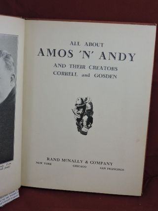 All About Amos 'n' Andy and Their Creators Correll & Gosden