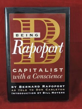 Being Rapoport. Bernard Rapoport