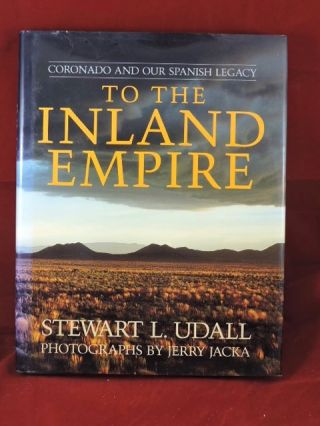 To The Inland Empire. Stewart L. Udall